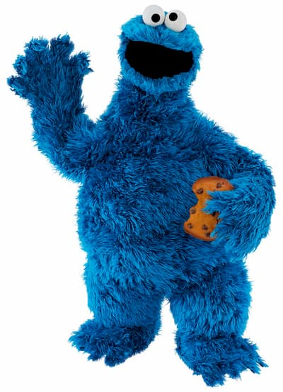 Monstruo de las Galletas / Cookie Monster (C) Barrio Sésamo / Sesame Street @ Muppets, Inc.